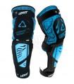 Protectii Protectie LEATT KNEE &SHIN GUARD 3DF HYBRID EXT NEGRU/ALBASTRU Leatt Xtrems.ro