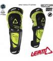 Protectii Protectie LEATT KNEE &SHIN GUARD 3DF HYBRID EXT NEGRU/GALBEN Leatt Xtrems.ro