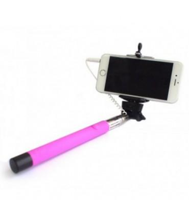 Selfie Stick Tellur Z07-5 Plus, Neon Pink