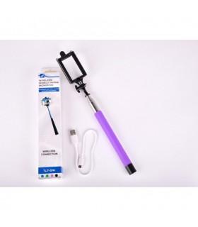 Mobile Selfie stick Tellur TL7-5W Deep Purple Tellur Xtrems.ro