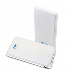 Baterie Externa Tellur Super Slim Line 5000 mAh White