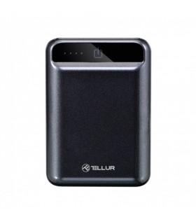 Baterii externe Baterie externa Tellur 10000mAh compacta, negru Tellur Xtrems.ro