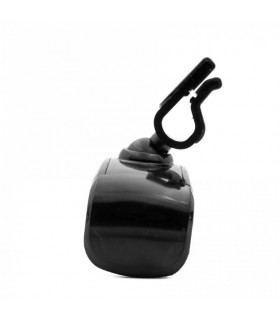 Suport telefon Tellur pentru grila de aerisire Negru