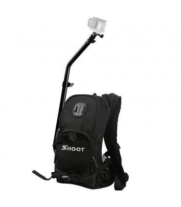 Rucsac Cu Suport Camera Video Sport - Compatibil Gopro, Xiaomi,Sony,Sjcam
