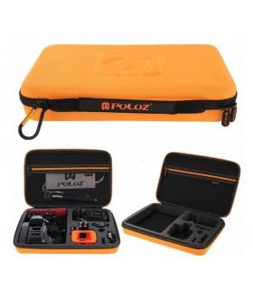 Geanta XL Portocalie Pentru Transport Si Depozitare Camera Video Sport Si Accesorii