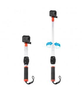 Selfie Stick Selfie Stick Telesin Flotant Telescopic Compatibil Gopro Telesin Xtrems.ro