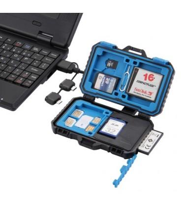 Carcasa Si Cititor Carduri De Memorie Sd. Micro Sd + Sim, Micro Sim, Nano Sim