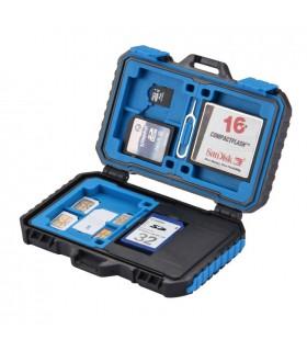 Carduri memorie Carcasa Si Cititor Carduri De Memorie Sd. Micro Sd + Sim, Micro Sim, Nano Sim PULUZ Xtrems.ro