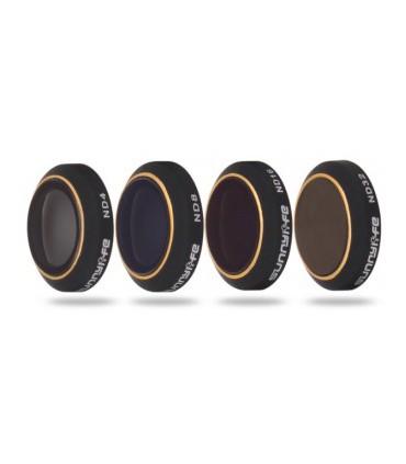 Set 4 Filtre Dji Mavic Pro / Platinum ND4/ND8/ND16/ND32 + Husa Transport