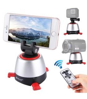 Trepied Tripod Fotografiere Panoramica 360 Grade Cu Telecomanda Si Bluetooth - compatibil Gopro, Smartphone, Dslr PULUZ Xtrem...
