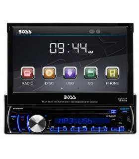"Boss Audio player & bluetooth 3,2"" Single-DIN ecran 7"" rabatabil (negru)"