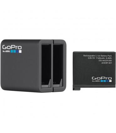 Incarcator dual + baterie GoPro Hero 4