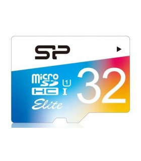 Card de memorie Silicon Power MicroSD 32GB, Elite