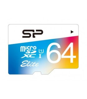 Card de memorie Silicon Power MicroSD 64GB Elite