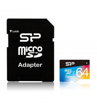 Card de memorie Silicon Power MicroSD 64GB Superior