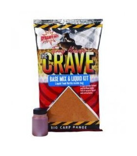 Nada Dynamite Baits The Crave base mix & Liquid Kit 1kg Dynamite Baits Xtrems.ro