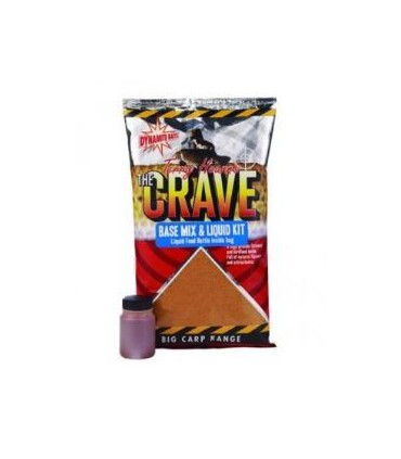 Dynamite Baits The Crave base mix & Liquid Kit 1kg
