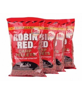 Pelete Dynamite Baits Robin Red Carp pellet 6mm 900g Dynamite Baits Xtrems.ro