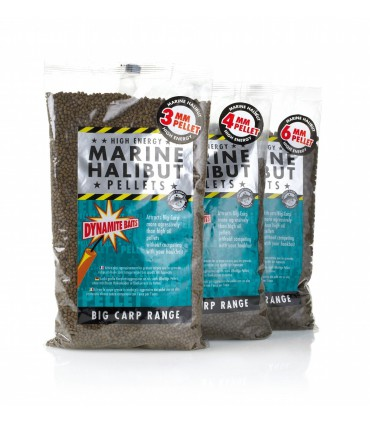 Dynamite Baits Marine Halibut Pellet 6mm 900g