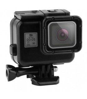 Carcasa subacvatica compatibila GoPro Hero 5, 6, 7 Black + usa touchscreen