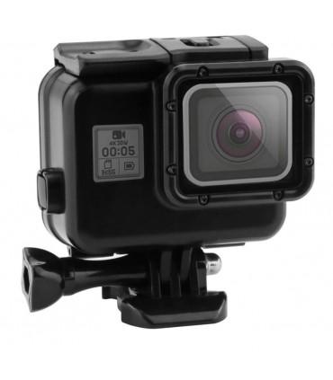 Carcasa subacvatica compatibila GoPro Hero 5, 6, 7 Black + usa touchscreen