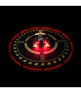 Pista De Aterizare Iluminata 70 Cm Pliabila - Drona Dji Mavic Pro, Mavic Air, Spark, Phantom, Tello, Mavic 2, Mavic Mini