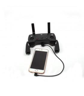 Cablu telecomanda conector lightning IOS pentru dronele DJI