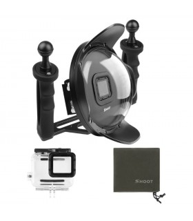 Dome Subacvatic Compatibil Gopro Gopro 5/6/7 Black