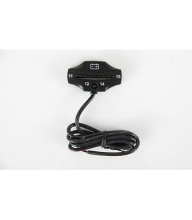 Indicator / Tester Baterie 12-16V Pentru Motocicleta, ATV, Masina, jetski, motosapa, utilaje agricole.
