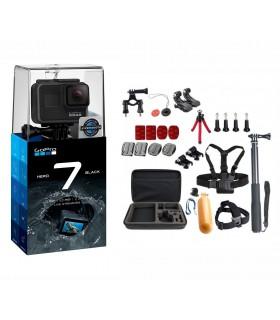 Pachet Promo 4 - Gopro Hero 7 Black + Set 26 Accesorii Compatibile