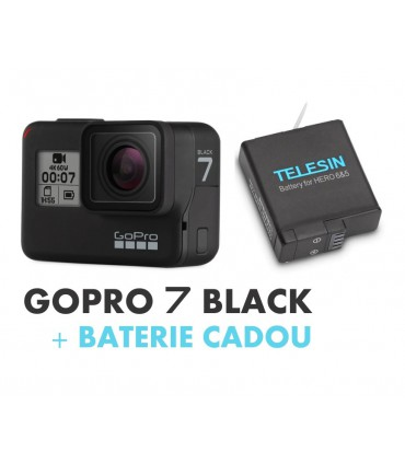GoPro Hero 7 Black + Baterie Cadou