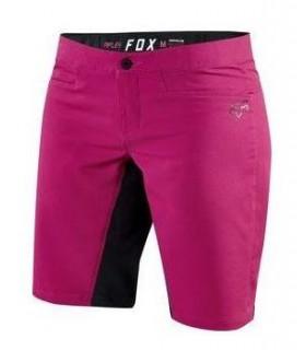 Pantaloni Pantaloni FOX MTB-PANT WOMENS RIPLEY SHORT FUCSIA Fox Xtrems.ro