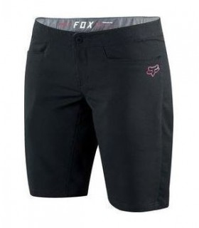 Pantaloni Pantaloni FOX MTB-PANT WOMENS RIPLEY SHORT BLACK Fox Xtrems.ro