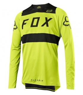 Tricouri Tricou FOX FLEXAIR JERSEY [YLW/BLK] Fox Xtrems.ro