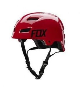 Casti Casca FOX MTB-HELMET TRANSITION HARDSHELL HELMET RED Fox Xtrems.ro