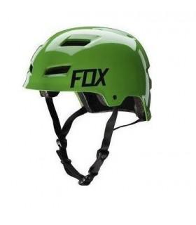 Casti Casca FOX MTB-HELMET TRANSITION HARDSHELL HELMET GREEN Fox Xtrems.ro