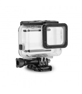 Carcase/Protectii Carcasa Subacvatica Telesin Transparenta Compatibila GoPro Hero 7 Silver Si White Telesin Xtrems.ro