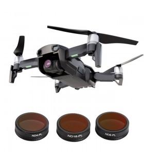 Accesorii drone Set 3 Filtre Polarizate Drona Dji Mavic Air - ND4 ND8 ND16 Telesin Xtrems.ro