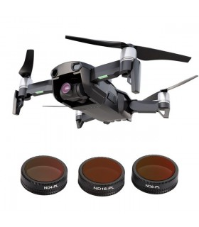 Set 3 Filtre Polarizate Telesin Pentru Drona Dji Mavic Air - ND4 ND8 ND16
