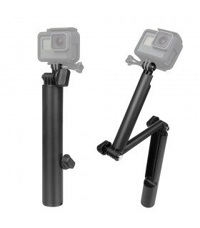 Selfie Stick Selfie Stick 3 Way Flotant Compatibil Gopro, Sjcam, Xiaomi Xtrems Xtrems.ro
