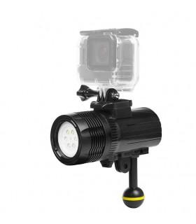 Lanterne Lanterna Subacvatica 10.000 LM Compatibila Gopro Si Alte Camere Video Sport Xtrems Xtrems.ro