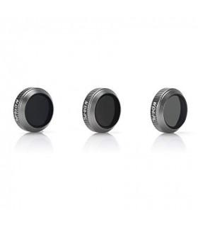 Set 3 Filtre Polarizate Telesin ND4 / ND8 / ND16 - Drona Dji Mavic Pro Si Platinum
