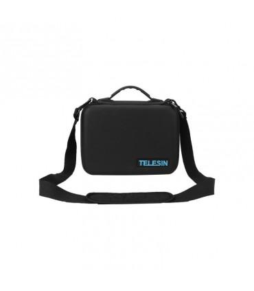 Geanta Compartimentabila De Transport Telesin Compatibila Camera Video Sport Gopro Sjcam Xiaomi Sony