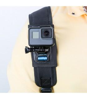 Accesorii camere video Suport Bretea Rucsac - Compatibil Camera Video Sport Gopro, Sjcam, Xiaomi PULUZ Xtrems.ro