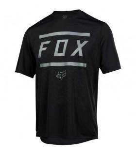 Tricouri Tricou FOX RANGER SS BARS JERSEY [BLK] Fox Xtrems.ro