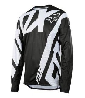 Tricouri Tricou FOX MTB-JERSEY DEMO LS JERSEY BLACK Fox Xtrems.ro