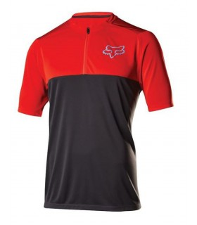 Tricou FOX MTB-JERSEY ALTITUDE RED/BLACK