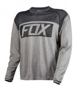 Tricouri Tricou FOX MTB-JERSEY INDICATOR LS JERSEY HEATHER GRAPHITE Fox Xtrems.ro