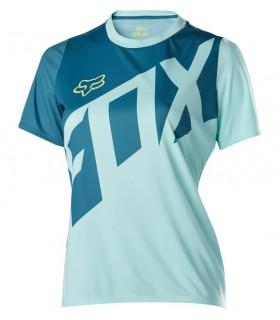 Tricouri Tricou FOX WOMENS RIPLEY SS JERSEY ICE BLUE Fox Xtrems.ro