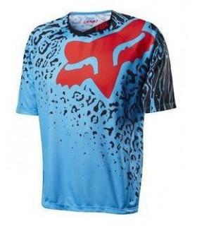 Tricouri Tricou FOX MTB-JERSEY DEMO CAUZ SS JERSEY CYAN Fox Xtrems.ro